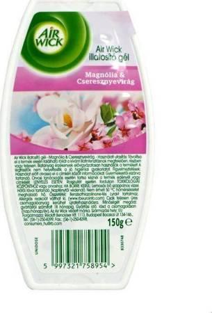 Air Wick żelowy odświeżacz 150g Magnolia i Kwiat Wiśni