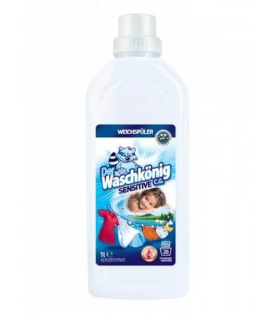 Der Waschkonig Sensitive płyn do płukania tkanin 1l