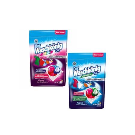 Der Waschkonig kapsułki do prania DUO Kolor+Uniwersalne