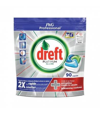 Dreft Platinum Original Kapsułki do zmywarki 90szt