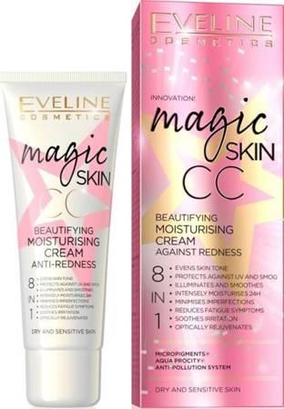 EVELINE Magic Skin CC krem na zaczerwienienia 8w1 50ml