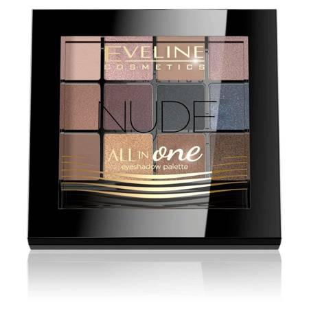 Eveline All InOne paleta cieni do powiek Nude PAL12