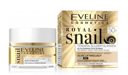 Eveline Royal Snail Krem silnie liftingujący 50+ dzień/noc 50ml